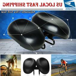 Comfort Durable Ergonomic Bicycle Seat Big Soft Bum Padded A