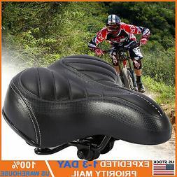 Comfort Extra Wide Big Bum Bike Bicycle Gel Cruiser Soft Pad