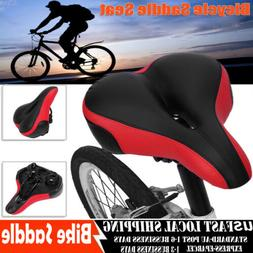 Comfort Extra Wide Big Bum Bike Bicycle Gel Cruiser Soft Pad