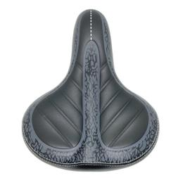Comfort Wide Big Bum Bike Bicycle Gel Extra Sporty Soft Pad