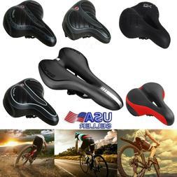 Comfort Wide Big Bum Soft Gel Cruiser Bike Saddle Foam Bicyc