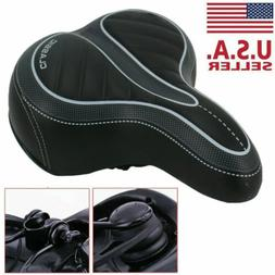 Comfort Wide Bike Seat Cushion Soft Padded Mountain Cruiser