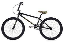 """Eastern Bikes Commando 24"""" Cruiser Bike, Black, 9.25""""/One Si"""