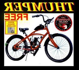 COMPLETE DIY 2-STROKE 48cc/66CC/80CC MOTORIZED BICYCLE KIT W