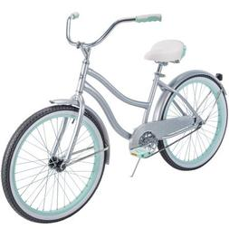 "Huffy` 24"" Cranbrook Girls' Cruiser Bike with Perfect Fit Fr"