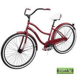 "26"" Huffy Ladies' Cranbrook Cruiser Bike, Pink"