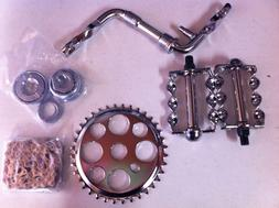 """Crank Package for 20"""" Bikes Cruiser Lowrider Bicycle"""