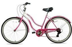"""Kent Cruiser Bike 26"""" Women's Pink Beach and City Comfor"""