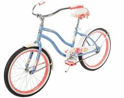 Huffy Cruiser Bike Girls 20 inch Good Vibrations Sky Blue NE