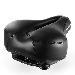 INBIKE Most Comfortable Bike Seat, Memory Foam Padded Wide B