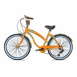 "Margaritaville 26"" Cruiser Women's Cruiser Bike w/Sturdy Han"