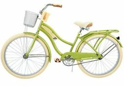 "Huffy Cruiser Bike Women's 26"" Green Beach City Comfort Bicy"