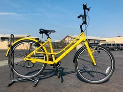 "OFO Cruiser City Bike 26"" Step Through Aluminum Bicycle W/ l"