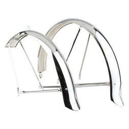 "SunLite Cruiser Bicycle Fenders, 26"", Chrome"