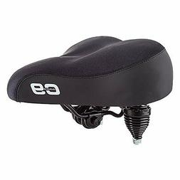 "Cloud-9 Cruiser Gel Saddle, 10.5"" x 10.5"" Black- Lycra"