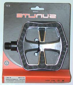 "Sunlite Cruiser Pedals w/ Rubber Surface, 9/16"""