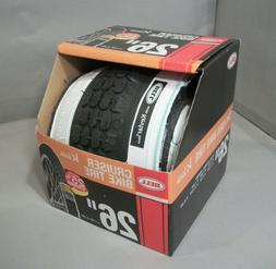 "Bell Cruiser Whitewall Bike Tire 26"" x 1.75"" - 2.25"" by Dupo"