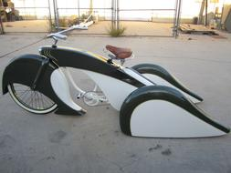 "Custom Fiberglass 26"" bicycle body kit trike lowrider adult"
