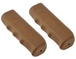 Custom Grips Kraton Rubber Brown. Bike grips, bicycle grips,