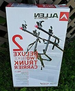 ALLEN SPORTS DELUXE 2 BIKE TRUNK CARRIER BICYCLE RACK NEW NI