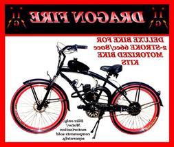 "DELUXE 26"" CRUISER BIKE FOR 2-STROKE 66CC/80CC MOTORIZED BIC"