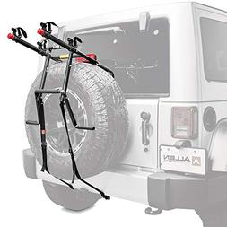 Allen Sports Deluxe 2-Bike Spare Tire Mounted Carrier
