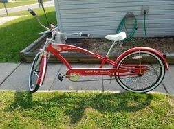 Detroit Red Wings Custom Stretch Cruiser Bike