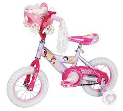 "Huffy Disney Princess Cruiser Bike 12"" With Doll Carrier - P"