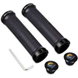 TOPCABIN Double Lock on Locking Bicycle Handlebar Grips Cycl