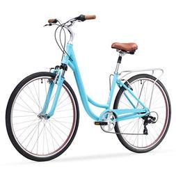 sixthreezero Body Ease Women's 7-Speed Comfort Bike with Rea