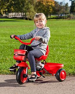 Schwinn Easy Steer 4 in 1 Tricycle, Red