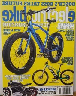 Electric Bike Action Magazine June 2018 Samson Cruiser Harle