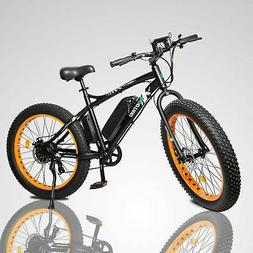 500W 36V Electric Bike eBike Snow Cruiser Bicycle 7 Gears Cy