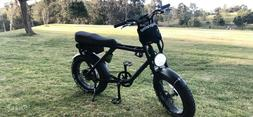 Electric Urban Retro Cruiser Bike 1000W 48V Fat Tire e-Bike