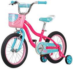 """Schwinn Elm Girl's Bike with SmartStart, 16"""" Wheels, Pink"""
