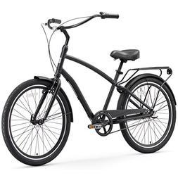 sixthreezero EVRYjourney Men's 3-Speed Hybrid Cruiser Bicycl