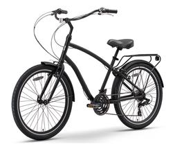 sixthreezero EVRYjourney Men's 21-Speed Hybrid Cruiser Bicyc