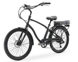 sixthreezero EVRYjourney Men's Hybrid Alloy Cruiser Bike eBi