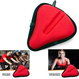 Bikeroo Large Exercise Bike Seat Cushion - Bicycle Wide Gel