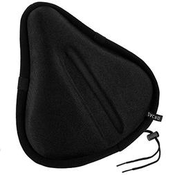 Zacro Exercise Bike Seat, Big Size Soft Wide Gel Bicycle Cus