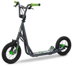 """12"""" Mongoose Expo Scooter, Grey/Green"""