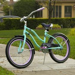 Huffy Fairmont Girls Cruiser Bike 20 inch Single Speed Metal