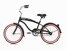 "MICARGI FAMOUS 20""  KIDS BICYCLE BEACH CRUISER BIKE CHOPPER"