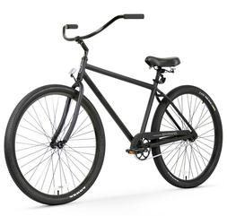 Firmstrong Black Rock Single Speed, Matte Black - Men's 29""
