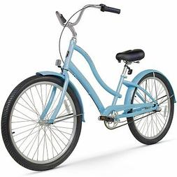 "26"" Firmstrong Women's CA-520 Three Speed Beach Cruiser Bicy"