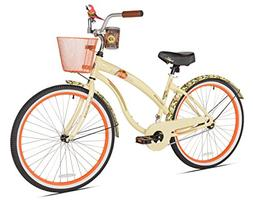 Margaritaville First Look Women's Beach Cruiser Bike, 26-Inc