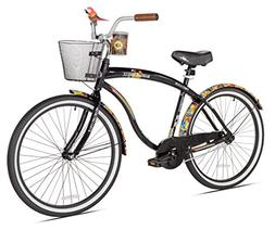 Margaritaville First Look Men's Beach Cruiser Bike, 26-Inch