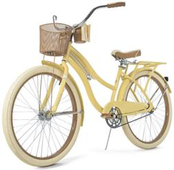 Free Ship* Huffy 26 Nel Lusso Women's Cruiser Bike with Perf