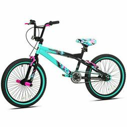 Girls Bike 20 Inch Single Speed BMX Cruiser Bicycle Front Re