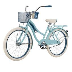 Huffy Girls Cruiser Bike 24 inch Wheels Steel Frame Padded S
